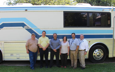 Fort Payne resident donates charter bus to DeKalb County