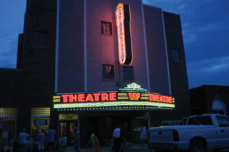 Lighting Up the Night: Close to 500 attend Cricket Theatre marquee lighting ceremony in Collinsville