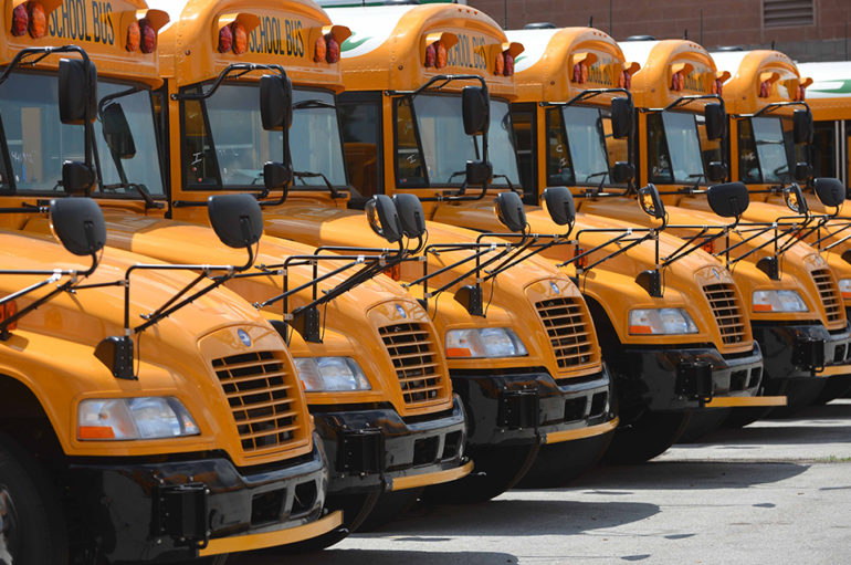 BOE secures new 12-bus fleet for DeKalb Schools