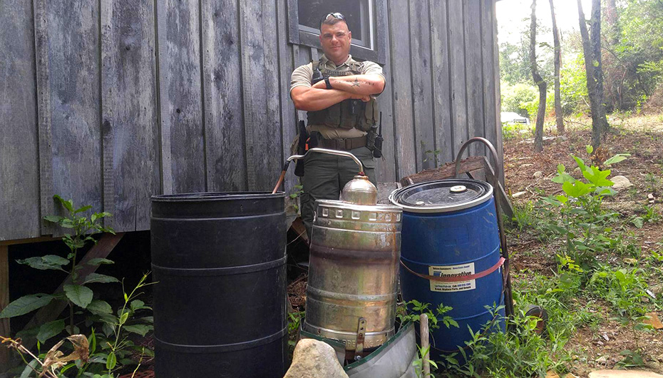 Moonshine operation busted in Sylvania