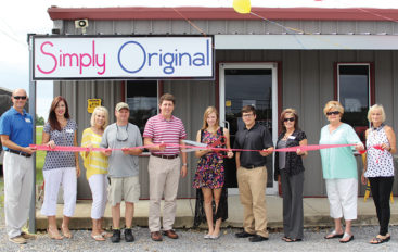 Simply Original Boutique Ribbon Cutting