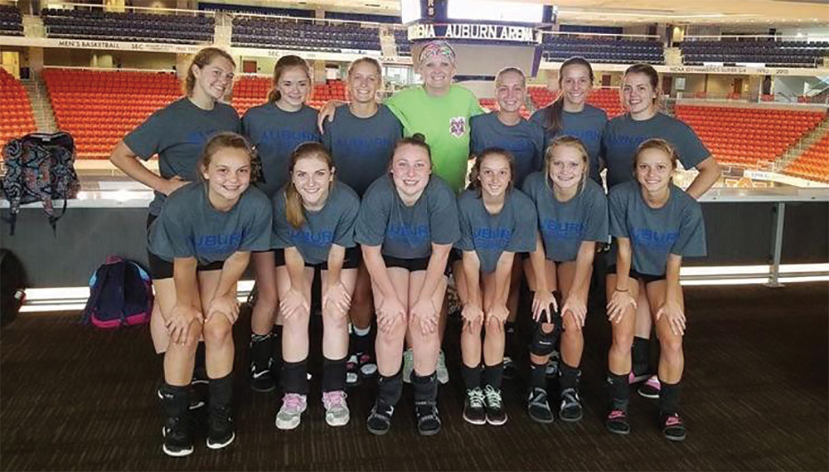Sylvania Volleyball gets ready for the 2016 season