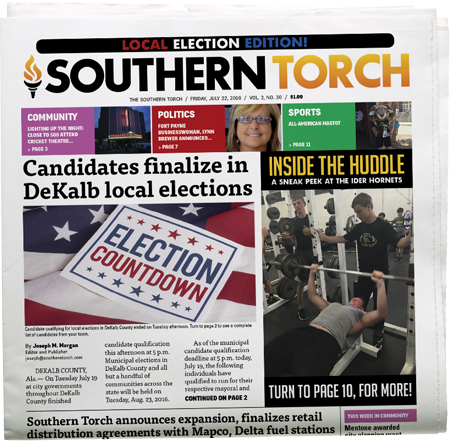 The Southern Torch, Vol. 2, No. 30