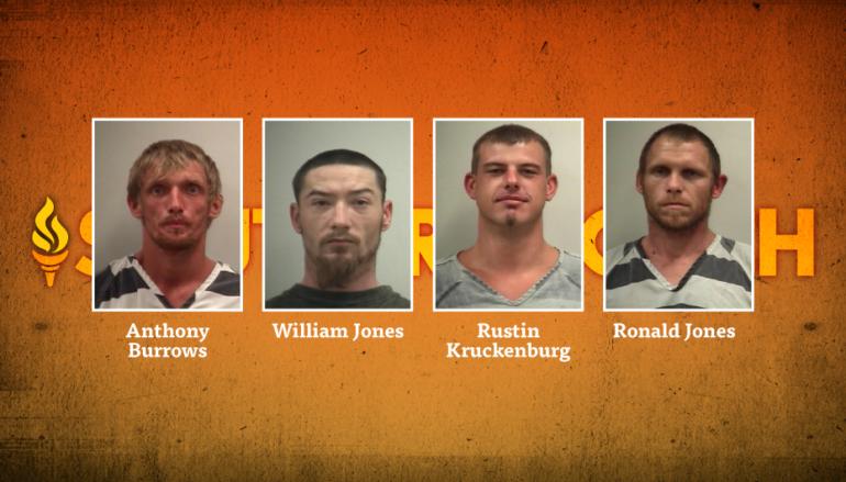 Deputies make multiple arrests serving warrant