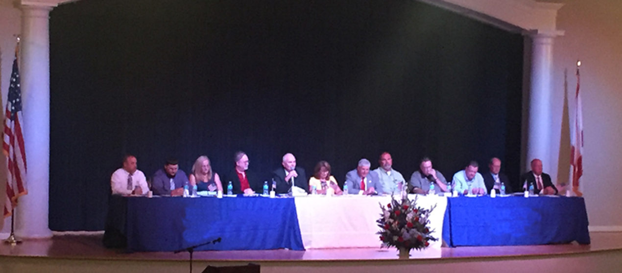 A dozen Fort Payne Council candidates face off in forum
