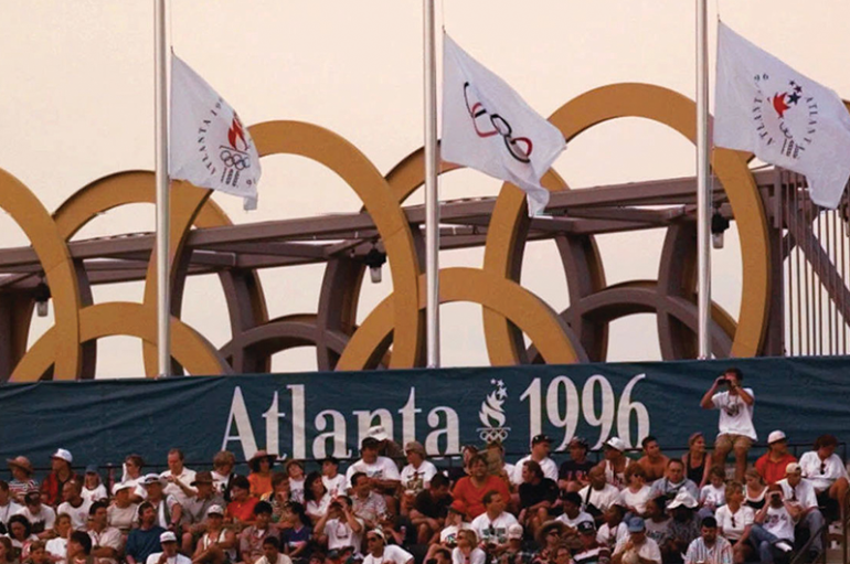 The Lights Went Out in Georgia 1996 Atlanta Olympics