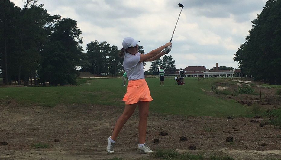 Patterson wins Junior Golf Championship