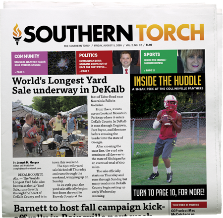 The Southern Torch, Vol. 2, No. 32