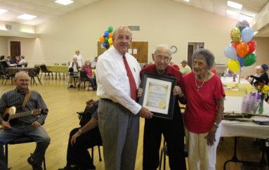 Frank Hiett Celebrates 100th Birthday in Rainsville