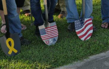 Rainsville breaks ground on Veterans Memorial