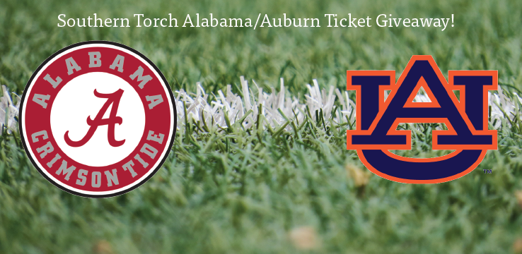 Southern Torch Alabama or Auburn ticket giveaway
