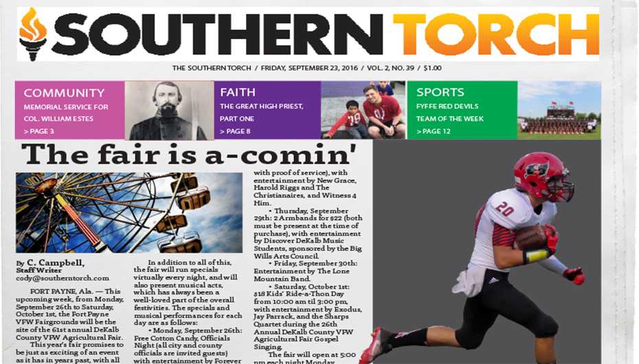 The Southern Torch, Vol. 2, No. 39