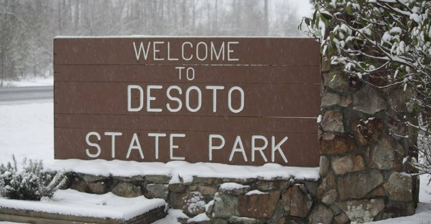 Memories at DeSoto State Park