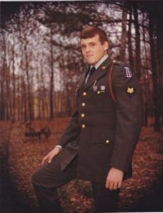 Lord while serving in the United States Army, stationed at Fort Benning, Georgia. (Facebook.com | Jack Lord)