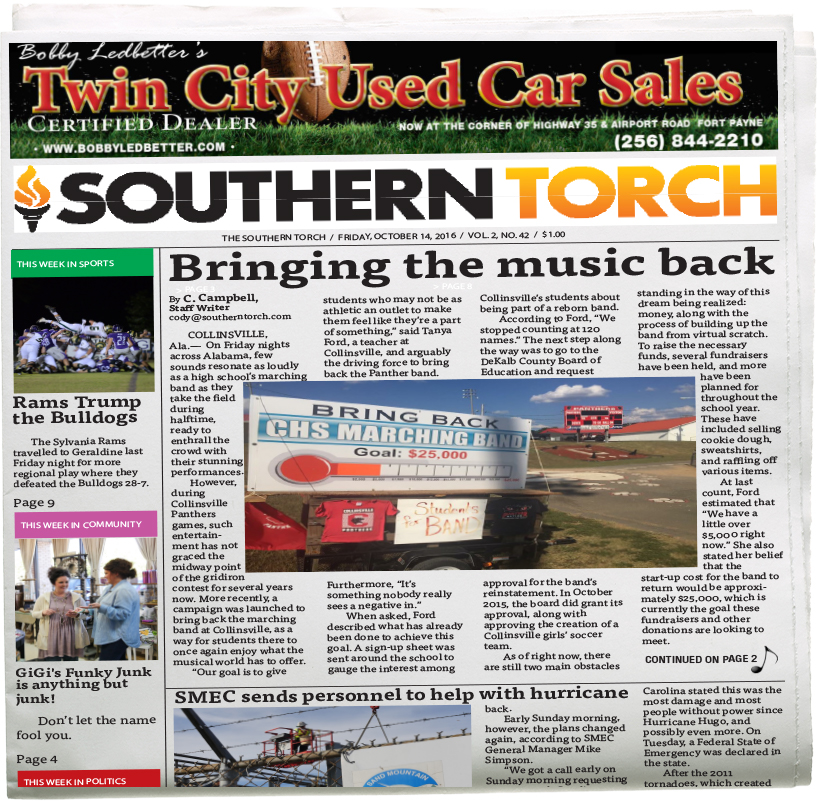 The Southern Torch, Vol. 2, No. 42
