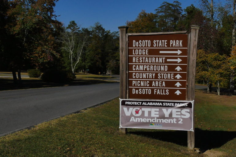 Amendment Two will Protect State Park funding
