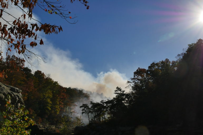 BREAKING: Fire spreads at Little River Canyon