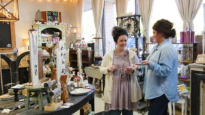 Owner Michelle Decker (right) has big plans for her local business. (Kalie Davis | Southern Torch)