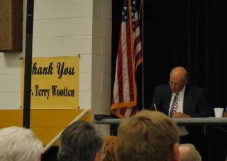 DeKalb school board says farewell to Terry Wootten