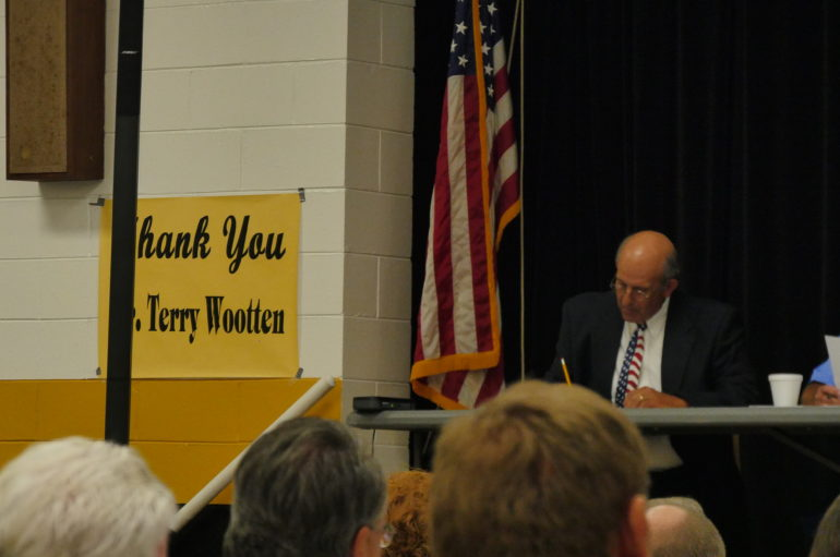 DeKalb school board says farewell to Wootten