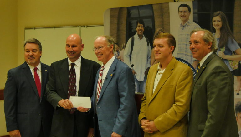 Governor Visits NACC, awards $2.2 million in grants to area towns