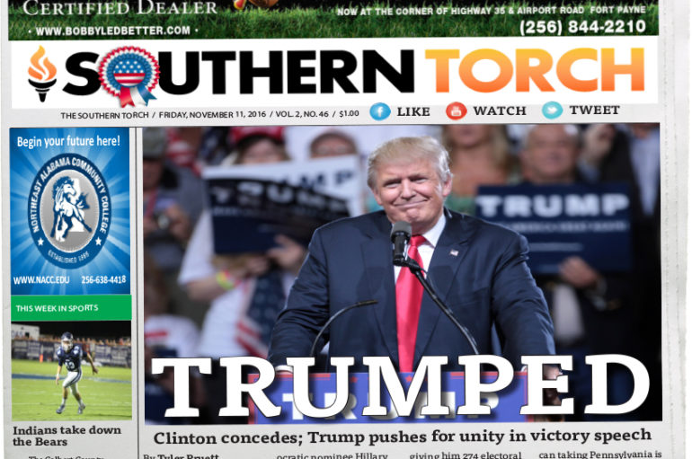 The Southern Torch, November 11 Issue