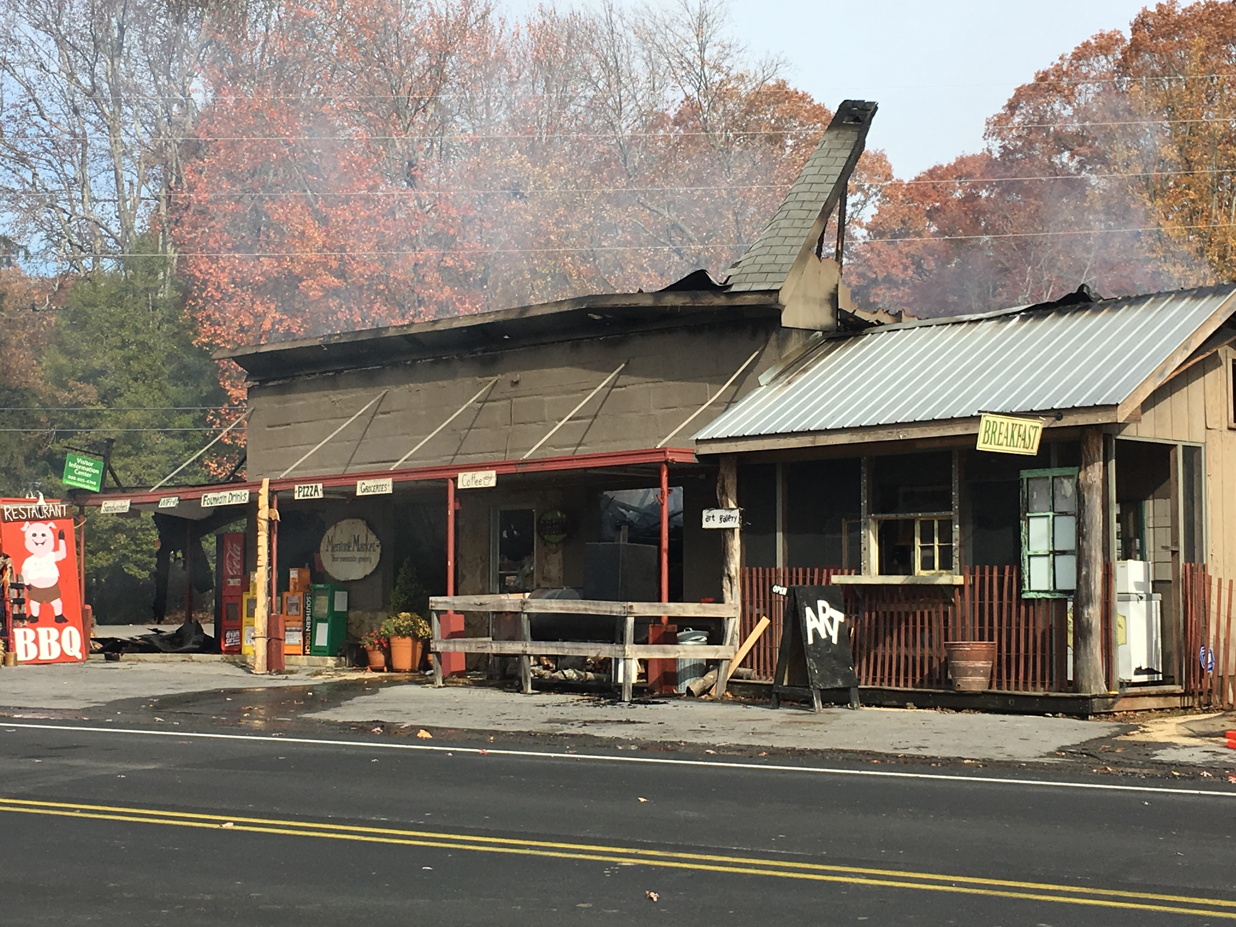 Early Morning Fire at Mentone Market