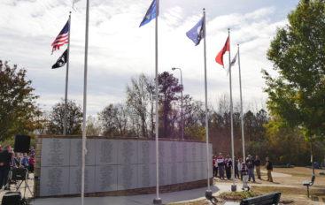 New Rainsville Veterans Memorial unveiled