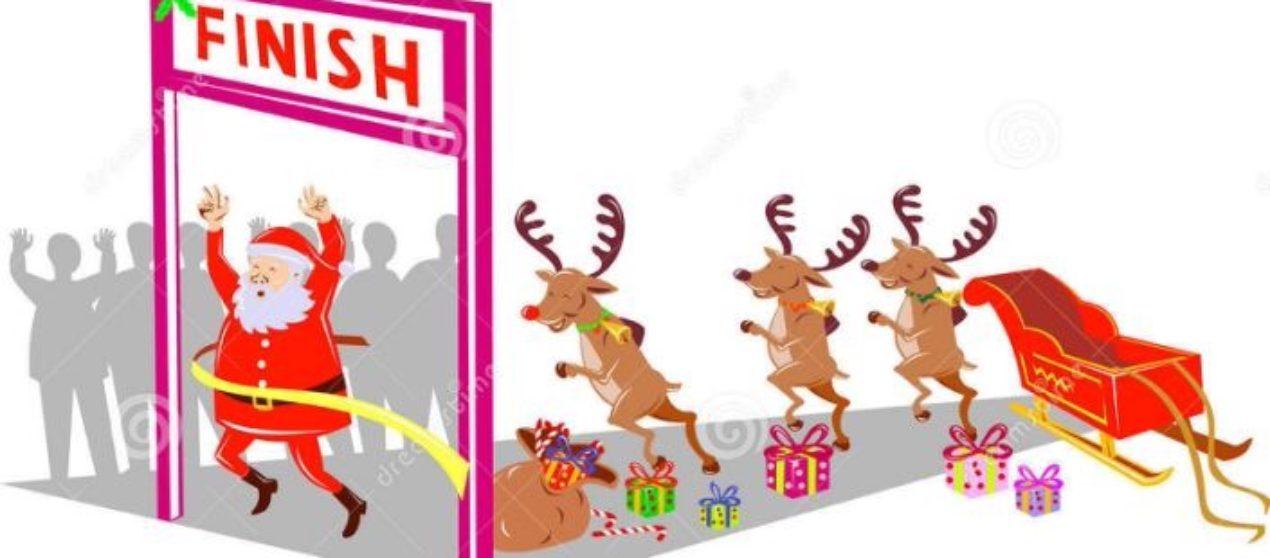 The Santa Dash returns to Rainsville this weekend!
