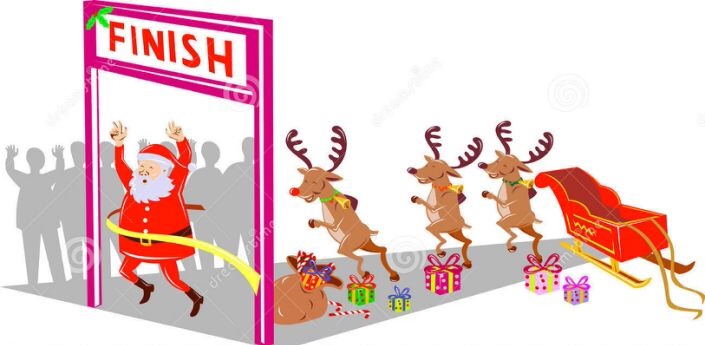 The Santa Dash returns to Rainsville this weekend!