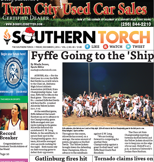 The Southern Torch, Vol. 2, No. 49