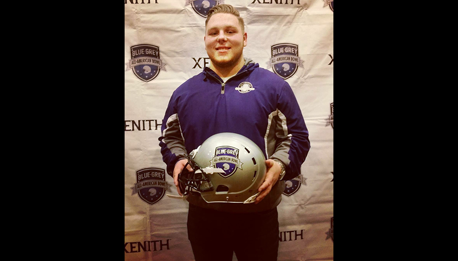 Valley Head's Justin Blansit makes All-American Bowl appearance
