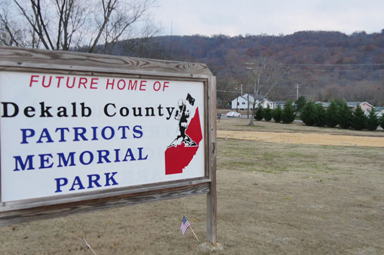 "Buy a personalized ""paver"" to help build Patriot's Park"