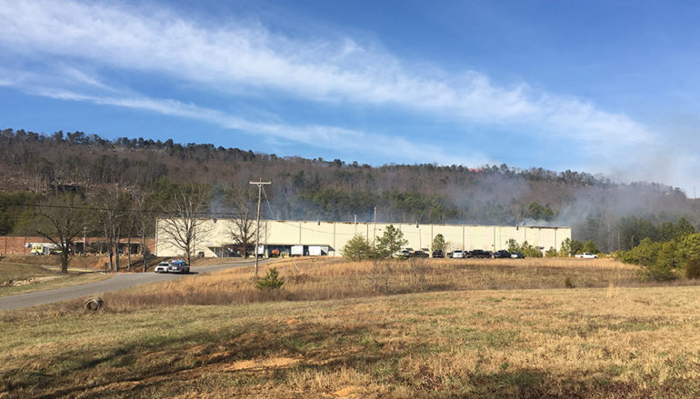 UPDATE: DeSoto Mills Fire could last for days