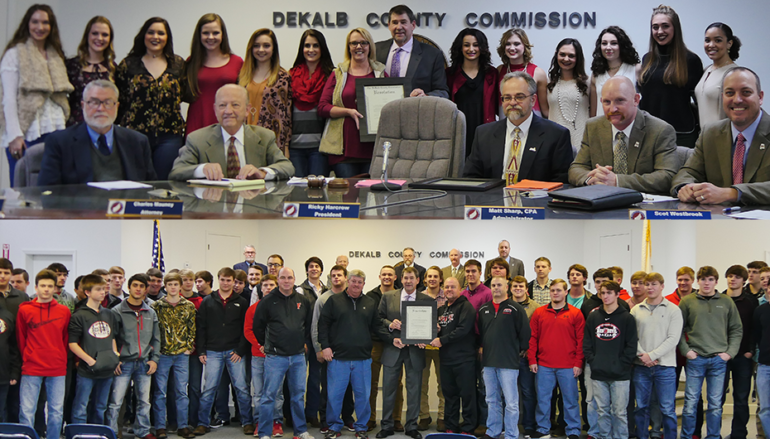 County Commission recognizes Fyffe State Champions (VIDEO)