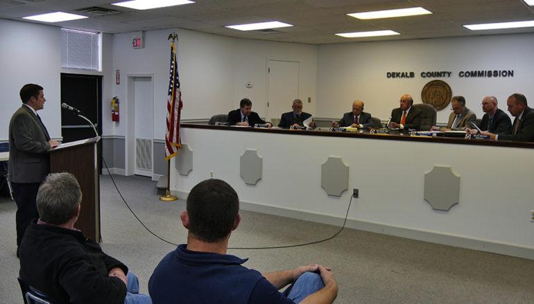 DeKalb County Commission Meeting, January 10, 2017 (VIDEO)