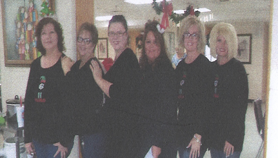 Collinsville Health and Rehab celebrates Christmas