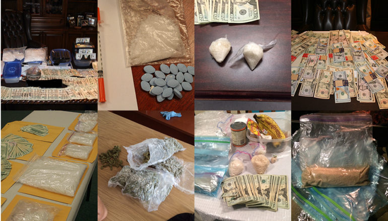 2016 DeKalb County Drug and Major Crimes Unit Statistics