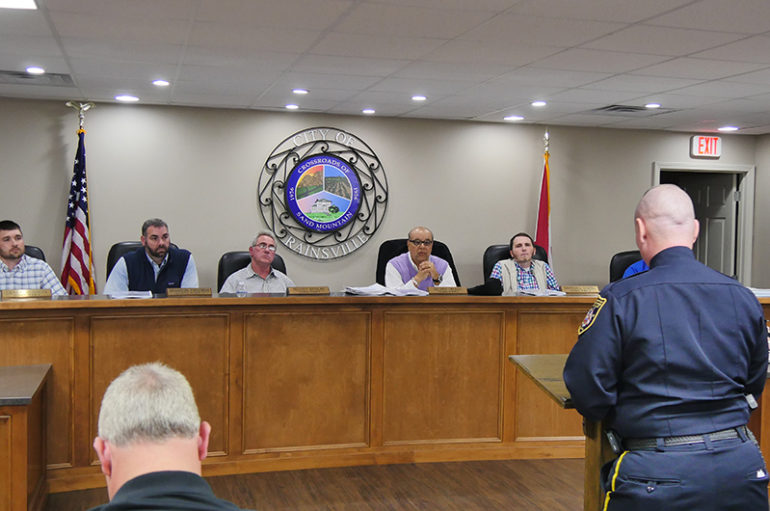 Rainsville City Council Meeting, January 3, 2017 (VIDEO)