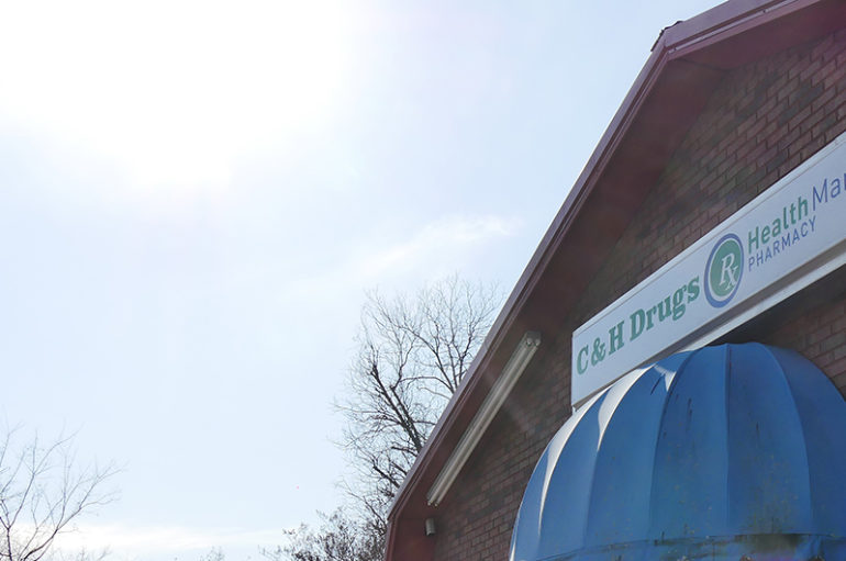 'Large Amount' of Prescription Drugs stolen from C&H Drugs