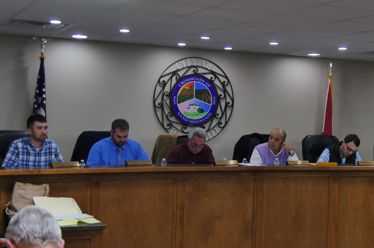 Rainsville City Council Meeting, February 6, 2017 (VIDEO)