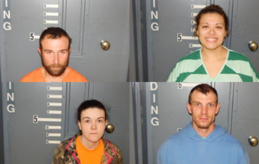 Four arrested for possessing Narcotics and Stolen Property