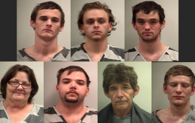 Nine arrested in Higdon Drug Bust