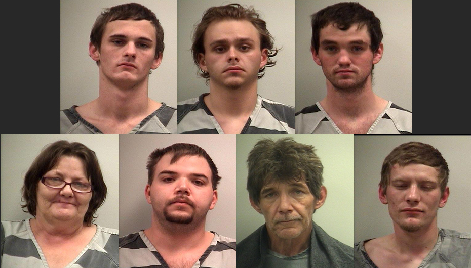 Nine arrested in Higdon Drug Bust