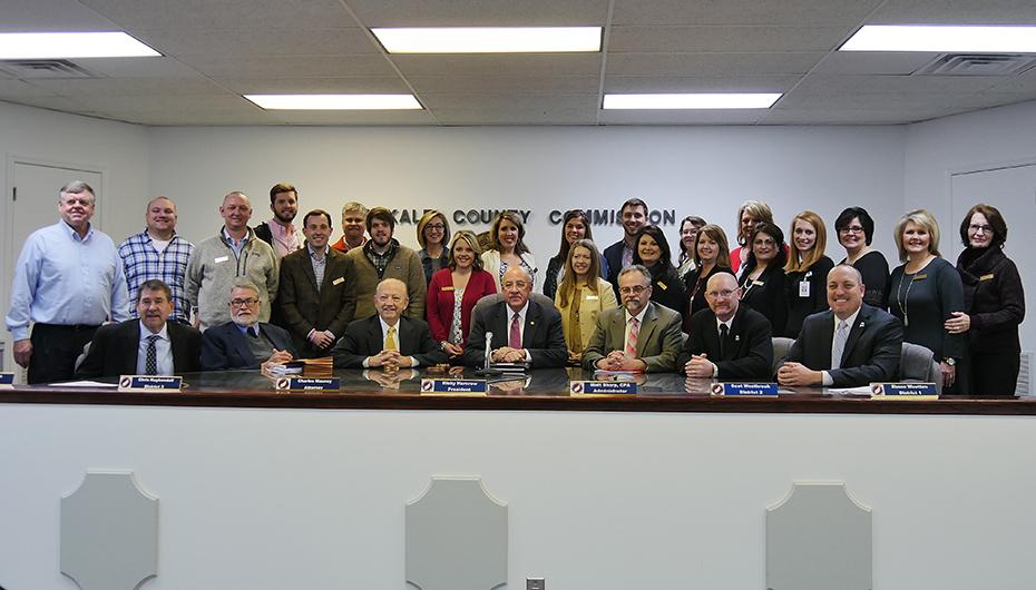 Leadership DeKalb visits County Commission meeting (VIDEO)