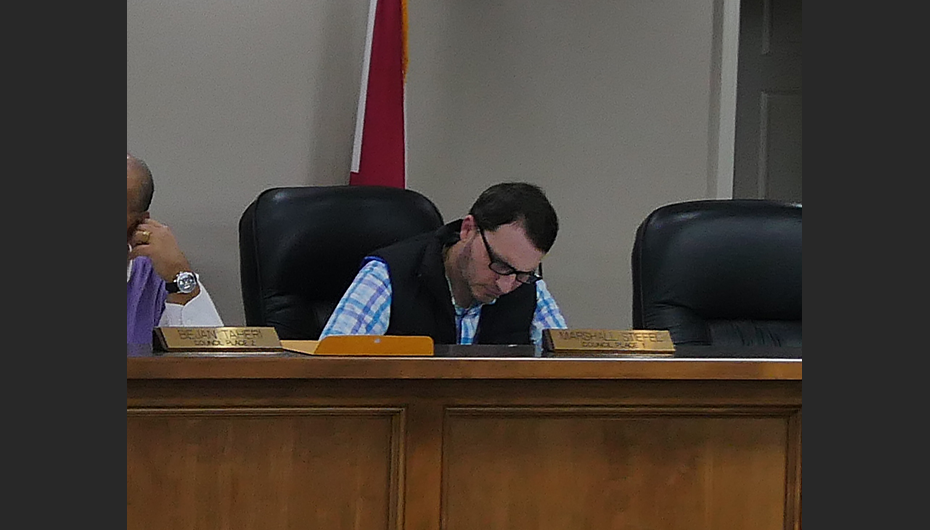 Councilman Marshall Stiefel alienated over Spending Concerns
