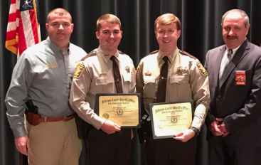 Two DeKalb County Deputies Graduate Jefferson County Sheriff's Academy