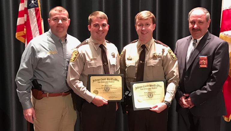 Two DeKalb County Deputies Graduate Jefferson County Sheriff's Academy