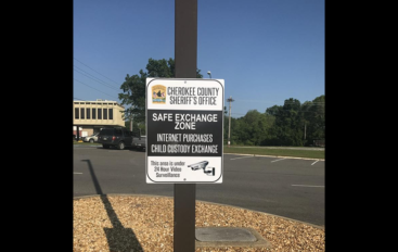 Cherokee County Sheriff sets up safe exchange zone for online transactions and child custody exchange