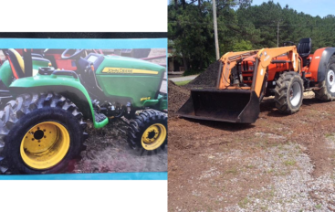 Deputies searching for stolen tractors in Dutton